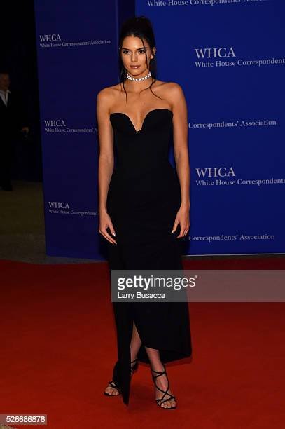 Model Kendall Jenner attends the 102nd White House Correspondents' Association Dinner on April 30 2016 in Washington DC