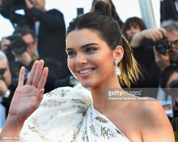 Model Kendall Jenner attends the '120 Beats Per Minute ' premiere during the 70th annual Cannes Film Festival at Palais des Festivals on May 20 2017...