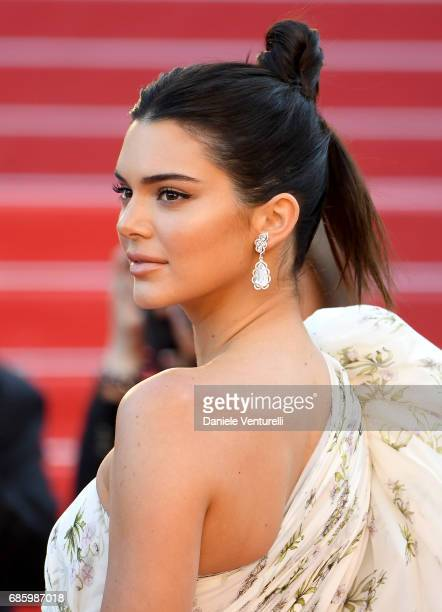Model Kendall Jenner attends the '120 Beats Per Minute ' screening during the 70th annual Cannes Film Festival at Palais des Festivals on May 20 2017...