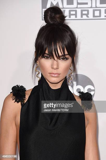 Model Kendall Jenner attends the 2015 American Music Awards at Microsoft Theater on November 22 2015 in Los Angeles California