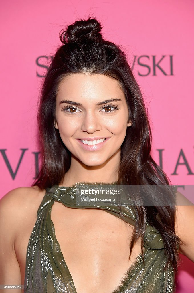 Model Kendall Jenner attends the 2015 Victoria's Secret Fashion After Party at TAO Downtown on November 10, 2015 in New York City.