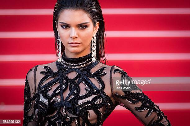 Model Kendall Jenner attends the 'From The Land Of The Moon ' premiere during the 69th Annual Cannes Film Festival on May 15 2016 in Cannes France