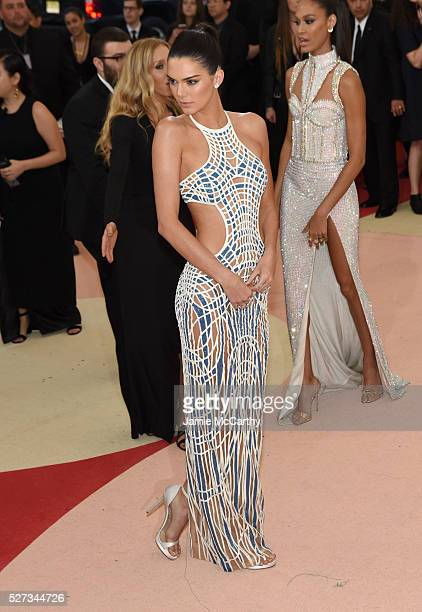 """Model Kendall Jenner attends the """"Manus x Machina: Fashion In An Age Of Technology"""" Costume Institute Gala at Metropolitan Museum of Art on May 2,..."""