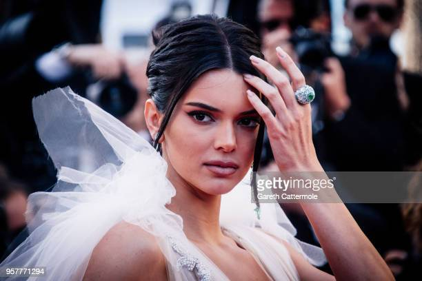 Model Kendall Jenner attends the screening of Girls Of The Sun during the 71st annual Cannes Film Festival at on May 12 2018 in Cannes France