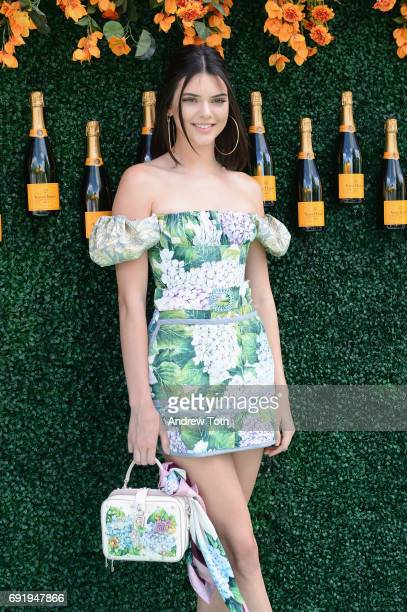 Model Kendall Jenner attends The Tenth Annual Veuve Clicquot Polo Classic at Liberty State Park on June 3 2017 in Jersey City New Jersey