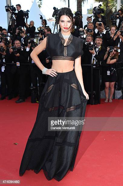 Model Kendall Jenner attends the 'Youth' Premiere during the 68th annual Cannes Film Festival on May 20 2015 in Cannes France