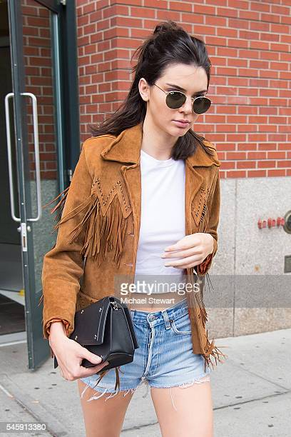 Model Kendall Jenner is seen in SoHo on July 10 2016 in New York City