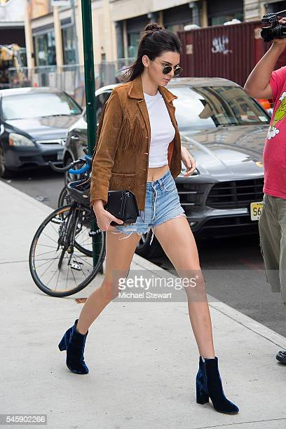 Model Kendall Jenner is seen in the Meat Packing District on July 10 2016 in New York City