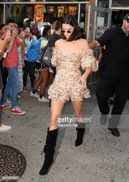 5c0d9968c9e2 Model Kendall Jenner is seen walking in Soho on August 1 2017 in New York  City