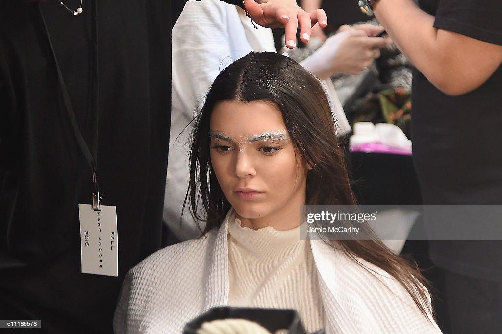 Marc Jacobs Fall 2016 Show - Backstage : ニュース写真
