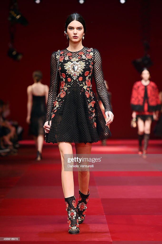 Dolce & Gabbana - Runway - Milan Fashion Week Womenswear Spring/Summer 2015 : News Photo