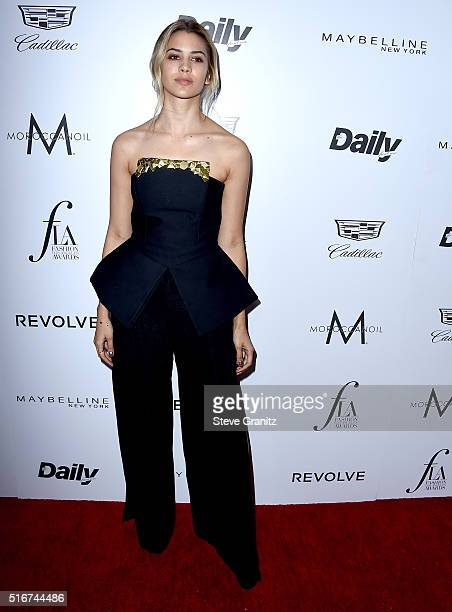 Model Kenya KinskiJones attends the Daily Front Row Fashion Los Angeles Awards at Sunset Tower Hotel on March 20 2016 in West Hollywood California