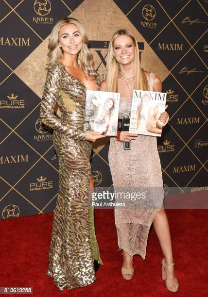 Model Khloe Terae and Actress / Model Caitlin O'Conner attend the 2017 MAXIM Hot 100 Party at The Hollywood Palladium on June 24 2017 in Los Angeles...