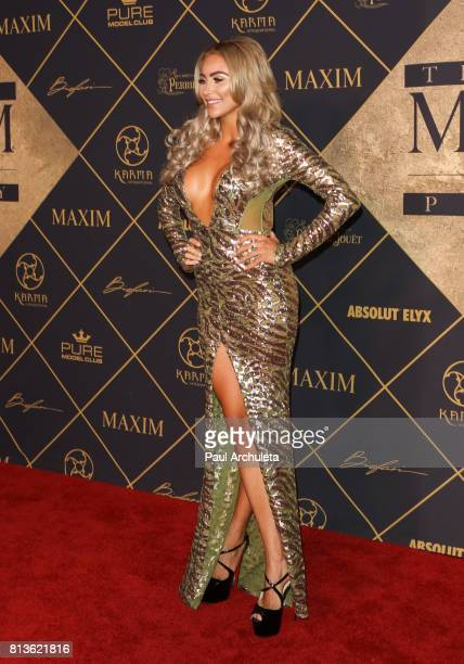 Model Khloe Terae attends the 2017 MAXIM Hot 100 Party at The Hollywood Palladium on June 24 2017 in Los Angeles California