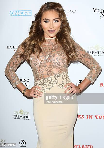 Model Khloe Terae attends the 9th annual Babes In Toyland charity toy drive at Avalon on December 7 2016 in Hollywood California