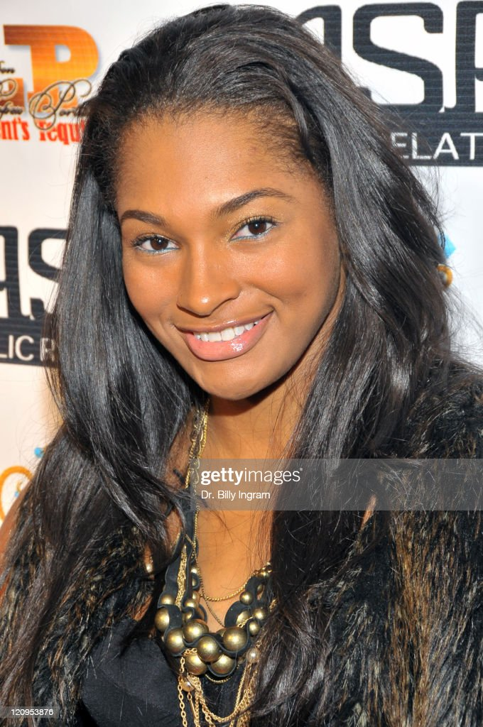 Model Kiana Franklin attends actress Kyla Pratt s 23rd ...