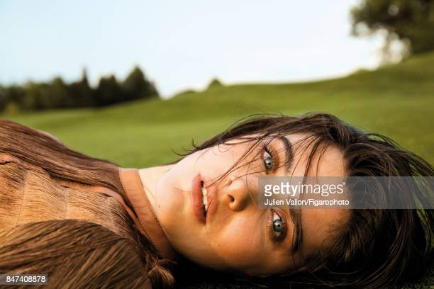 Model poses at a fashion shoot for Madame Figaro on June 22 2017 in EvianlesBains France Body PUBLISHED IMAGE CREDIT MUST READ Julien...