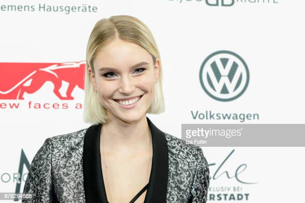 Model Kim Hnizdo attends the New Faces Award Style 2017 at The Grand on November 15 2017 in Berlin Germany