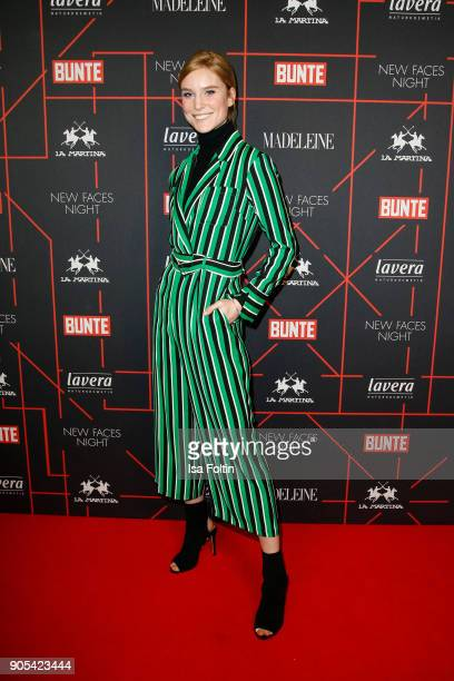 Model Kim Hnizdo during the Bunte New Faces Night at Grace Hotel Zoo on January 15 2018 in Berlin Germany