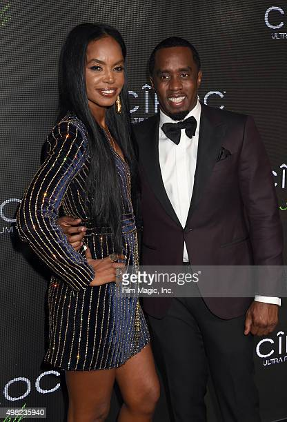 Model Kim Porter and recording artist Sean Diddy Combs attend Sean Diddy Combs Exclusive Birthday Celebration Presented By CIROC Vodka on November 22...