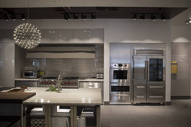 Inside The Pirch Home Design Store Photos and Images | Getty Images