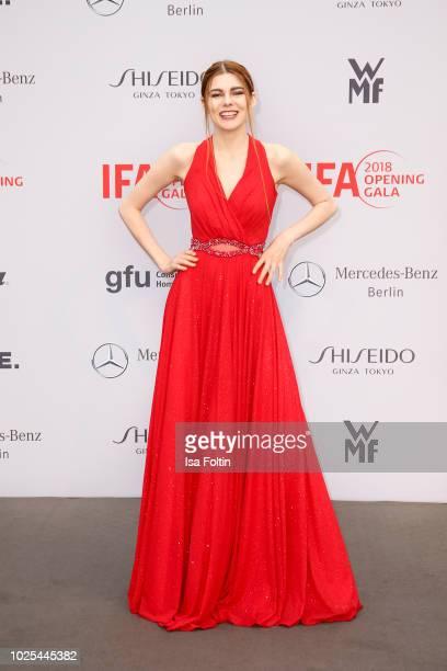 Model Klaudia Giez attends the IFA 2018 opening gala on August 31 2018 in Berlin Germany