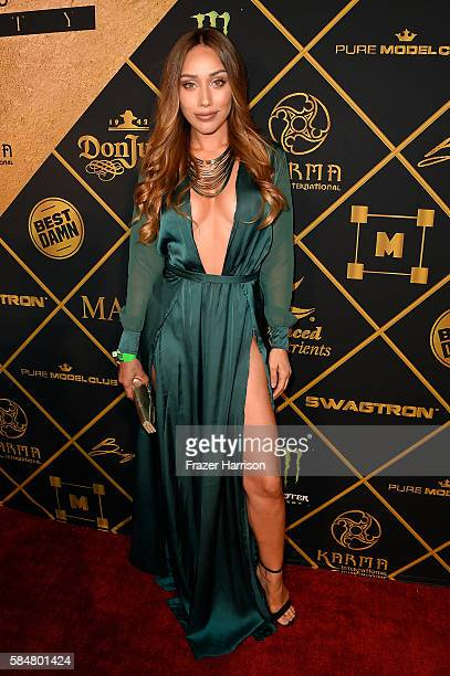 Model Korrina Rico attends the 2016 MAXIM Hot 100 Party at the Hollywood Palladium on July 30 2016 in Los Angeles California