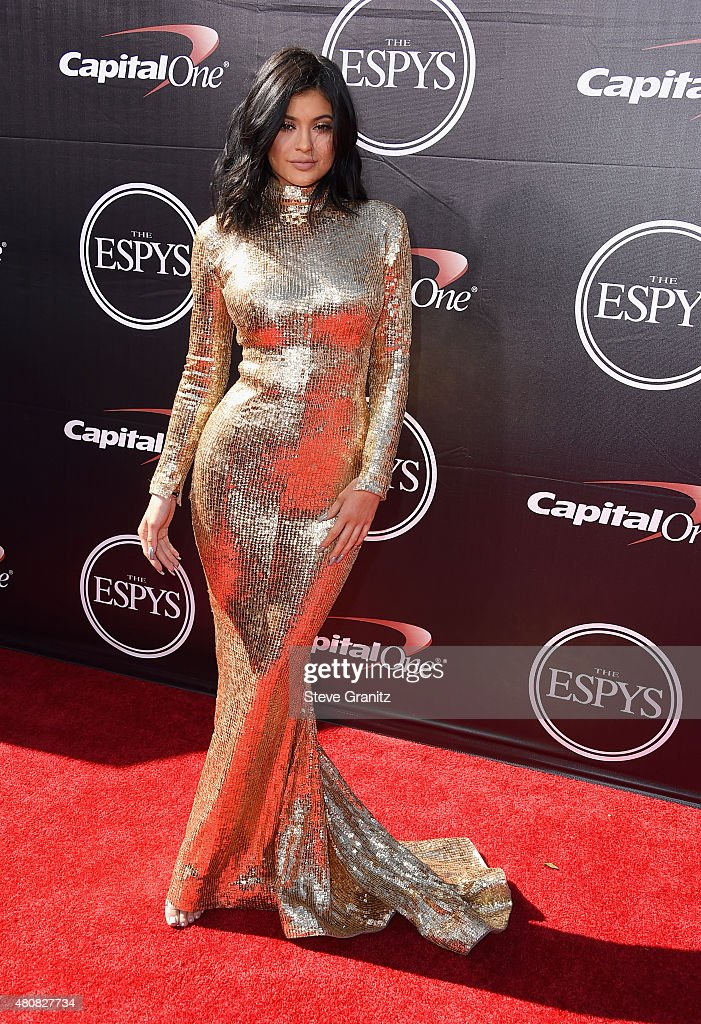 Model Kylie Jenner attends The 2015 ESPYS at Microsoft Theater on July 15, 2015 in Los Angeles, California.