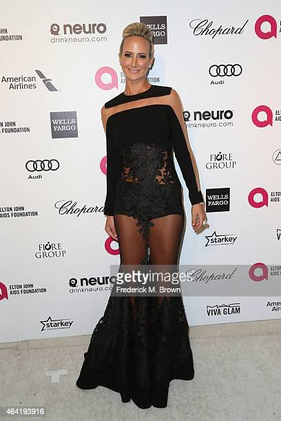 Model Lady Victoria Hervey attends the 23rd Annual Elton John AIDS Foundation's Oscar Viewing Party on February 22 2015 in West Hollywood California
