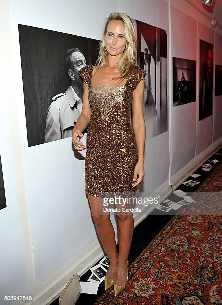 Model Lady Victoria Hervey attends the W Magazine celebration of the 'Best Performances' Portfolio and The Golden Globes with Audi and Dom Perignon...