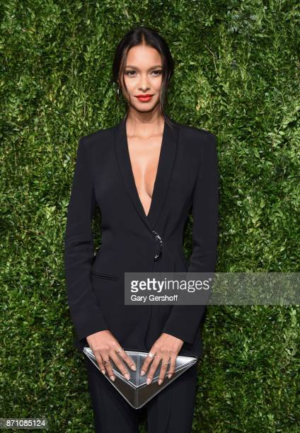 Model Lais Ribeiro attends the 14th Annual CFDA/Vogue Fashion Fund Awards at Weylin B Seymour's on November 6 2017 in the Brooklyn borough of New...