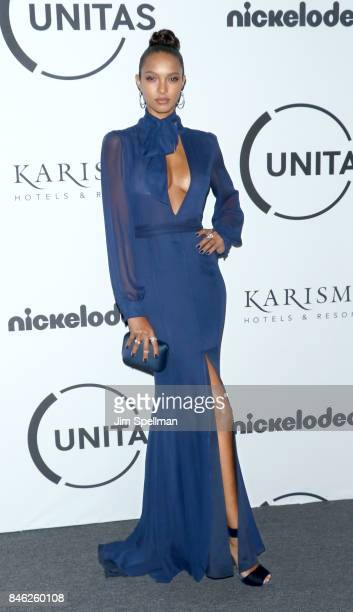 Model Lais Ribeiro attends the 2017 Unitas Gala at Capitale on September 12 2017 in New York City