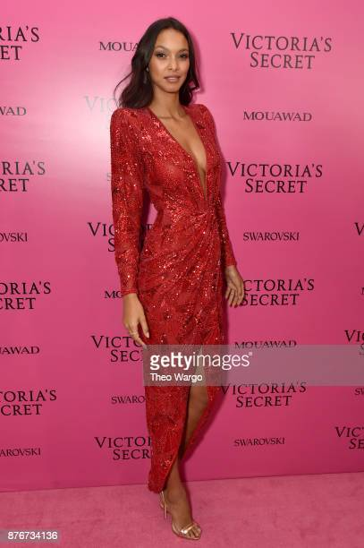 Model Lais Ribeiro attends the 2017 Victoria's Secret Fashion Show In Shanghai After Party at MercedesBenz Arena on November 20 2017 in Shanghai China