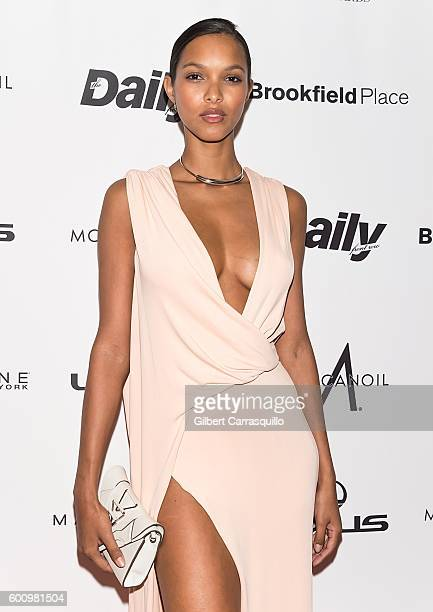 Model Lais Ribeiro attends The Daily Front Row's 4th Annual Fashion Media Awards at Park Hyatt New York on September 8 2016 in New York City