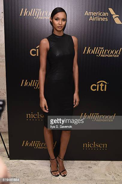 Model Lais Ribeiro attends the Hollywood Reporter's 2016 35 Most Powerful People in Media at Four Seasons Restaurant on April 6 2016 in New York City