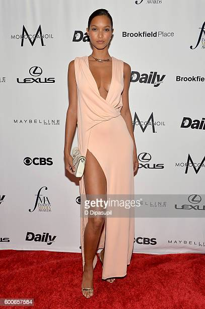 Model Lais Ribeiro attends the The Daily Front Row's 4th Annual Fashion Media Awards at Park Hyatt New York on September 8 2016 in New York City