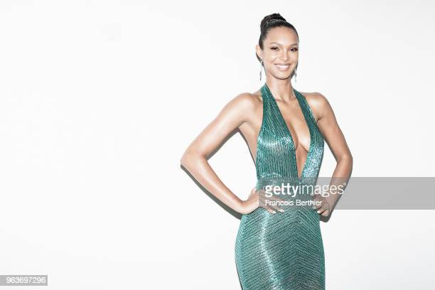 Model Lais Ribeiro is photographed for Gala Croisette on May 2018 in Cannes France