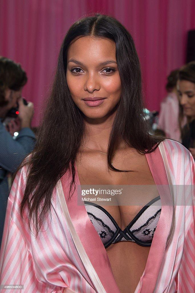 2015 Victoria's Secret Fashion Show  - Hair And Makeup : News Photo