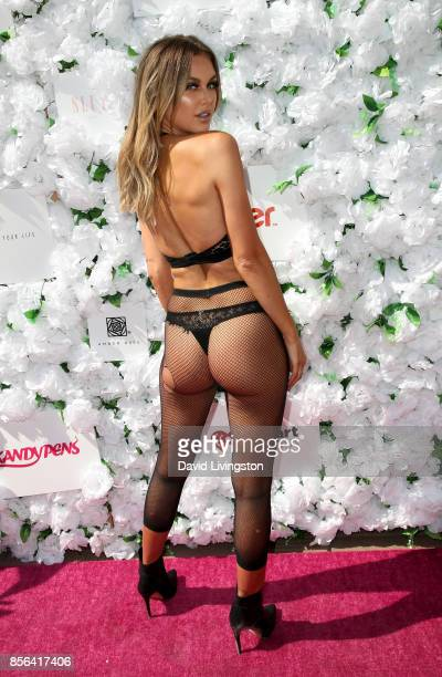 Model Lala Kent attends the 3rd Annual Amber Rose SlutWalk on October 1 2017 in Los Angeles California