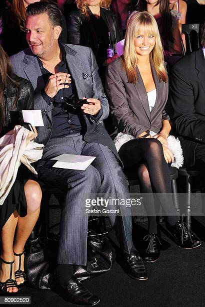 Model Lara Bingle attends the Lisa Ho catwalk show during the second day of the Rosemount Australian Fashion Week Spring/Summer 2008/09 Collections...