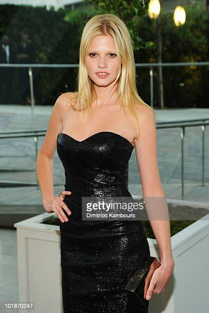 Model Lara Stone attends the 2010 CFDA Fashion Awards at Alice Tully Hall Lincoln Center on June 7 2010 in New York City