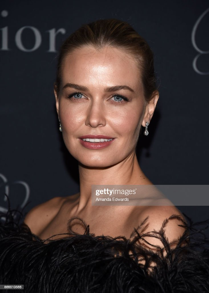 Model Lara Worthington arrives at the 2017 Princess Grace Awards Gala at The Beverly Hilton Hotel on October 25, 2017 in Beverly Hills, California.