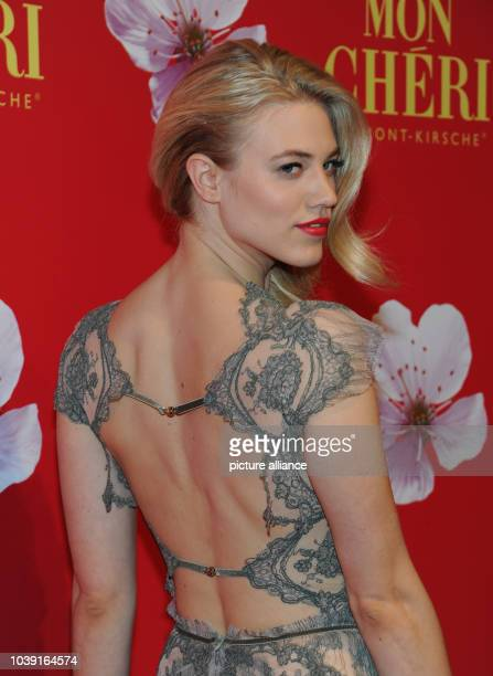 Model Larissa Marolt attends the Barbara Day celebrations hosted by chocolate manufacturer Mon Cheri in Munich Germany 4 December 2015 The charity...