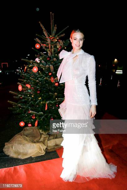 """Model Larissa Marolt during the Daimlers """"BE A MOVER"""" event at Ein Herz Fuer Kinder Gala at Studio Berlin Adlershof on December 7, 2019 in Berlin,..."""
