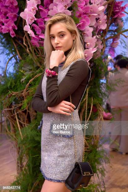 Model Larissa Schot attends an Enchanted Evening with RHONY's Carole Radziwill and the TODAY Show's Lilliana Vazquez Hosted by Bronwen Smith Of B...