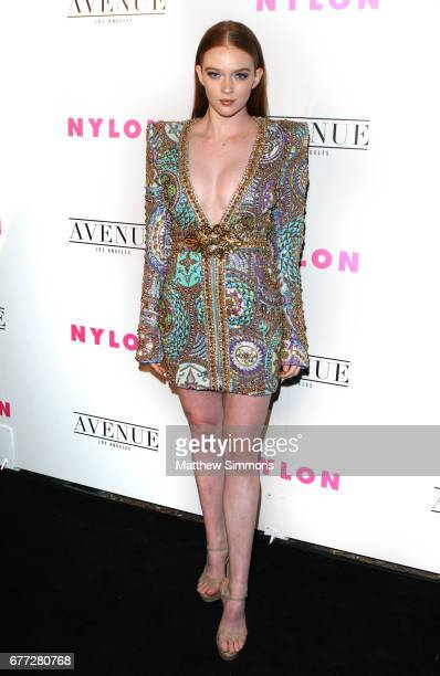 Model Larsen Thompson attends NYLON's Annual Young Hollywood May Issue Event at Avenue on May 2 2017 in Los Angeles California