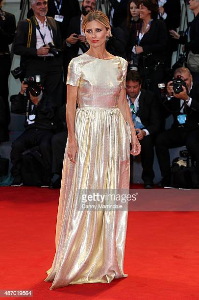 Model Laura Bailey attends a premiere for 'A Danish Girl' during the 72nd Venice Film Festival at on September 5 2015 in Venice Italy