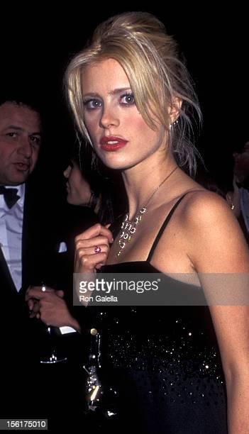 Model Laura Bailey attends Metropolitan Museum of Art Costume Institute Gala on December 4 1995 at the Metropolitan Museum of Art in New York City