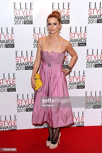 Model Laura Bailey attends the 2011 ELLE Style Awards at the Grand Connaught Rooms on February 14 2011 in London England