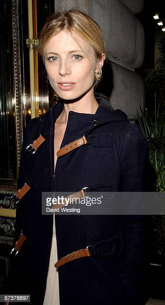 Model Laura Bailey attends the private VIP party thrown by model Helena Christensen in association with Swarovski and Diesel at Paper Regent Street...